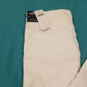 Hollister Pants - High rise super skinny pants
